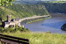 Burg Katz am Rhein | © weseetheworld/Fotolia.com