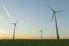 Windkrafträder | © Jan Künzel/iStockphoto.com